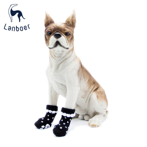 Lanboer Pet Cute Dog Cat Anti-Slip Socks